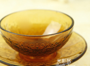 外贸出口 手工精雕琉璃碗(套装) 饭碗 沙拉碗 厨房 餐具,碗盆,