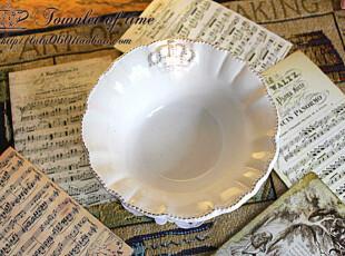 满150包邮 珍藏款 公主的皇冠 法式优雅 复古浮雕 碗 外贸陶瓷,碗盆,