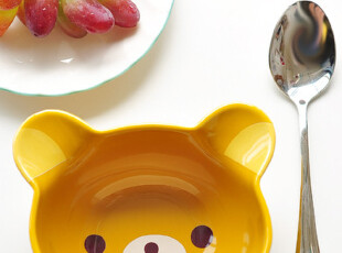 轻松熊限定款 厨具超可爱陶瓷碗/饭碗,碗盆,