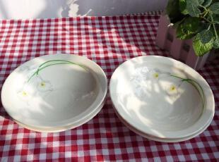 日本原单 外贸陶瓷 品味之作 きょ彦名品 餐具 螺纹平边 盘 浅碗,碗盆,