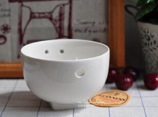 特惠 Bao ZAKKA 新骨瓷 纯白 NEW BONE 方底3孔 筷子碗 面碗,碗盆,