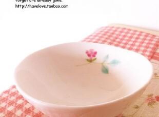 【有爱小铺】杂货zakka 日式和风 手绘花卉 三足陶瓷小碗,碗盆,