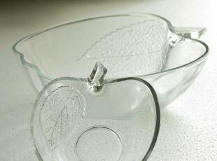 西泽 个性创意 苹果碗 玻璃碗 烹调碗  大码 沙拉碗,碗盆,
