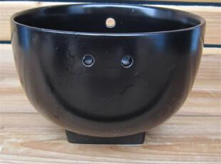 """外贸原单 陶瓷餐具 Luzerne""""三孔"""" 黑釉餐碗 汤碗 面碗 水果碗,碗盆,"""