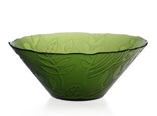 经典到货!【安娜系列】清新北欧森林风格 玻璃餐具 大碗,碗盆,
