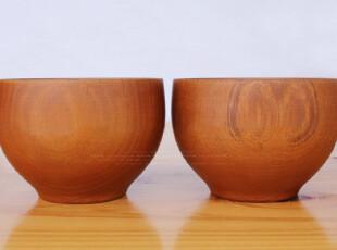 外贸 漆器 畅销日本原单正品 日式木质餐具 小栗碗-黄色,碗盆,