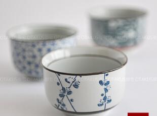 OTAKUS御宅 七夕创意礼物 日本和风手绘梅花米饭碗 骨瓷碗餐具,碗盆,