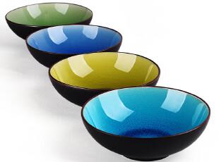 [天猫813破纪录大促] 陶瓷餐具泡面碗 创意大饭碗  冰裂釉色拉碗,碗盆,