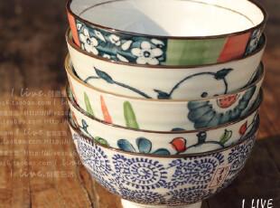 【伊贺烧】日本餐碗 和风陶瓷饭碗 日式手绘碗组 礼盒 结婚礼物,碗盆,