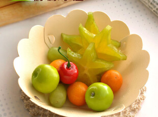 柠檬家居 纳川 创意收纳盘 糖果碗 水果盘子 杂物收纳盒 3枚装,碗盆,