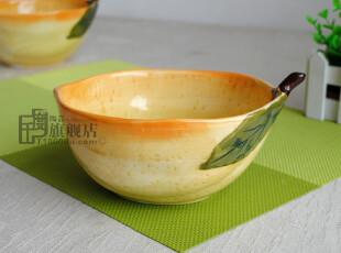冲冠特价*碗*沙拉碗*柠檬碗*外贸手绘陶瓷餐具*tabletops出口原单,碗盆,