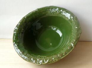美单 餐具 陶瓷 法式洛可可 雕花汤碗 大面碗 果碗 沙拉碗,碗盆,