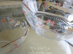 『韩国网站代购』兰花小馆,12点见~玻璃碗,碗盆,