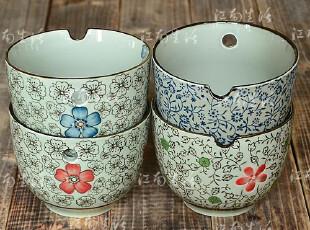 日式和风餐具|5寸拉面碗|汤碗|大碗 4款 带孔,碗盆,