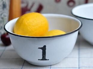 ZAKKA 搪瓷1号碗 复古搪瓷碗,碗盆,