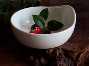 陶瓷餐具新骨瓷 瓷器 异型碗 调料碗 甜品碗  0.35kg,碗盆,
