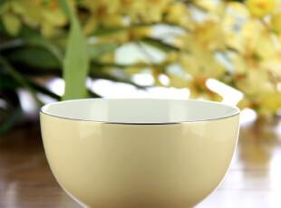 美式欧式乡村田园创意家居 米色色釉韩式碗 餐具,碗盆,