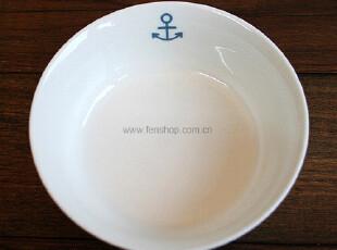 FEN ZAKKA 杂货  海锚陶瓷碗(大) 980335,碗盆,