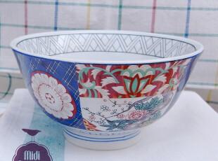 陶瓷餐具 日式花碗 面碗 汤碗,碗盆,