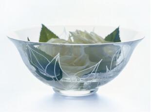 Rosendahl 透明玻璃水果沙拉碗24cm 水果碗 沙拉碗  玻璃碗,碗盆,