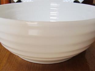 外贸出口陶瓷餐具欧美顶级新骨瓷餐碗 汤碗 面碗 沙拉碗,碗盆,