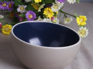 外贸陶瓷餐具美国名品HAUSEN哑光釉 欧式面碗 汤碗 粥碗 瓷碗,碗盆,