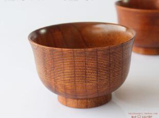 2012新款 天然环保 木制餐具 日式木碗 宝宝小汤碗 防烫儿童饭碗,碗盆,