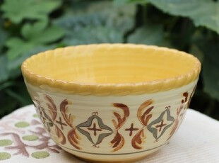 【A grass】外贸陶瓷手绘立体浮雕冷.艳系列餐碗、零食碗、沙拉碗,碗盆,