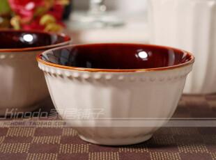 特价 外贸陶瓷餐具 瓷器 宫廷风 卡布奇诺 米碗 调料碗 小碗,碗盆,