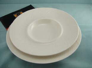 餐具外贸出口瓷器新骨瓷装饰盘/摆盘/果盘/花盘/餐盘 2件套装,碗盆,