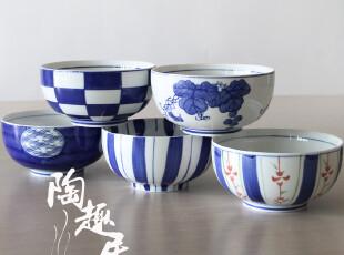 【日式餐厅陶瓷】和风拉面碗/乌冬碗/汤碗 原单外贸陶瓷JK31562,碗盆,