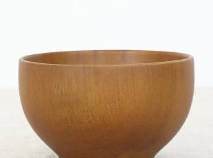 外贸出口日本 天然栗木原木碗 环保植物漆 米饭碗汤碗 套装餐具,碗盆,