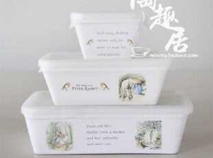 彼得兔Peter Rabbit 保鲜碗/便当盒,碗盆,