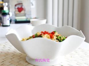 """外贸陶瓷 瓷器餐具套装LZ""""荷欢"""" 沙拉碗 餐碗 汤碗感恩回馈特价,碗盆,"""