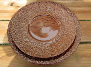 外贸出口陶瓷餐具 瓷器 法国极品手工瓷餐盘/装饰盘/果盘 [大],碗盆,
