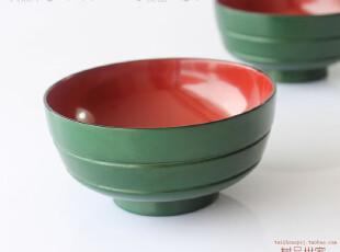 限量款 木制漆器 出口日本 日式木碗 12cm大号汤碗 高档可爱饭碗,碗盆,