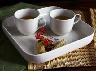 外贸陶瓷餐具/出口瓷器新加坡LZ大方烤盆 餐盆 食物盆 果盆 托盘,碗盆,