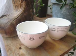 zakka 日式陶瓷小碗 布丁杯,碗盆,