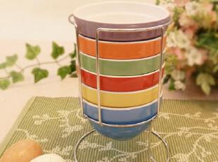 外贸FDA标准陶瓷碗  情侣对碗纳川 碗套装餐具 创意宜家彩虹碗,碗盆,