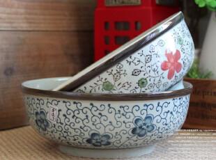 瑕疵特价 日式和风 陶瓷 餐具 大汤碗 果盆 茶洗 钵 大碗 面碗,碗盆,