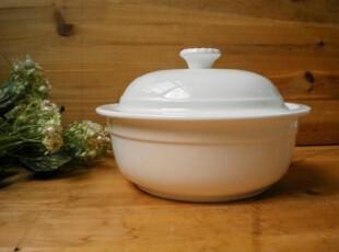 外贸出口 原单纯白陶瓷餐具 碗 汤碗 大 盖碗 宫廷汤锅 创意,碗盆,