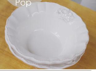 优雅。欧式宫廷风米饭碗 外贸陶瓷家居法式 可配盘小清新做旧,碗盆,
