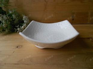 酒店用品陶瓷餐具批发船形碗 纯白碗 冷菜碟 甜品碗 外贸出口创意,碗盆,