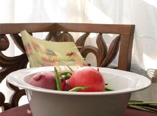 外贸出口陶瓷餐具英国皇家R-D新骨瓷特大盆 烤炉盆  果盆  杂物盆,碗盆,