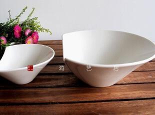 一鸿艺居 陶瓷餐具新骨瓷LZ新骨瓷异型碗 调料碗 甜品碗2件套,碗盆,