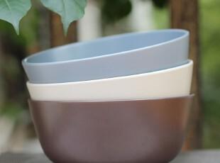绘生活 宜家风格陶瓷碗餐具 米饭碗 6寸碗 纯色之恋1146X,碗盆,