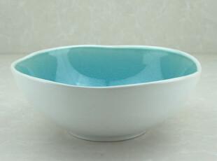 7.5寸 外贸 冰裂釉 陶瓷碗 拉面碗 粥碗 汤碗 菜碗 泡面碗 17.8cm,碗盆,