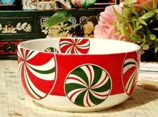 美克美家乡村/新古典主义陶瓷餐具/花样年华面碗/汤碗/水果沙拉碗,碗盆,