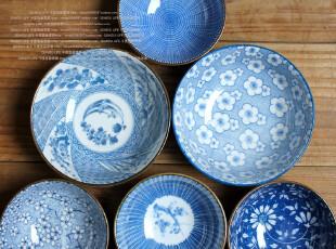 千度悠品 日式和风 陶瓷 餐具 碗 小碗 饭碗 汤碗 多款选,碗盆,