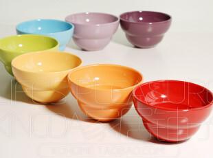 Kingda 外贸陶瓷器 儿童餐具 甜蜜糖果 多彩儿童碗 调料碗 米碗,碗盆,